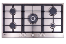 90 cm gas cooktop, with wok burner and flame failure product photo