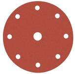 Abrasive disc, Ø 150 mm, Awuko, with Velcro and 9 holes, for wood product photo
