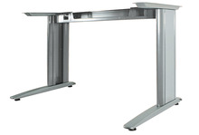 Desk leg, for fixed height workstation frame product photo