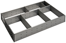 Drawer organiser, stainless steel product photo