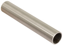 Hook-in tube, Stainless steel product photo