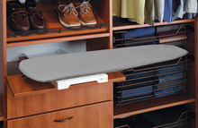 Ironing board, Ironfix, shelf mounted product photo