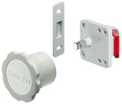 Magnetic lock system for doors, Safe-fix product photo