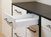 Single extension drawer set, Screw-on product photo