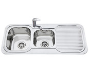 Sink, 1 and 3/4 bowl product photo