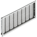 Ventilation grill, plastic, slotted product photo
