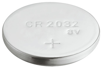 Button cell battery, CR 2032, lithium, 3V