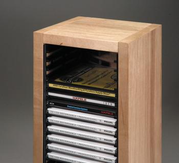 CD Storage Rack, Pop Out Storage Racks