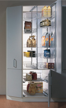 Pull-Out Pantry Frame, 1160-1495 mm adjustable