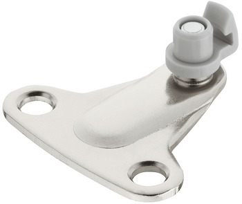 Screw-on bracket, For Duo standard/forte flap fitting
