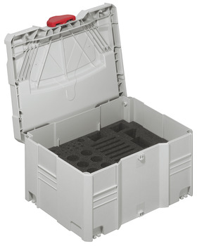 Tool box, Systainer<sup>® </sup>T-Loc, Box, with foam insert for Red Jig