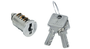 VCS18 cylinder removable core, for reversible key, incl. 2 keys