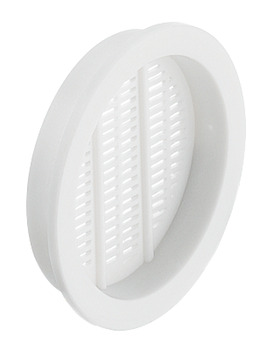 Ventilation grill, Plastic, extremely fine mesh