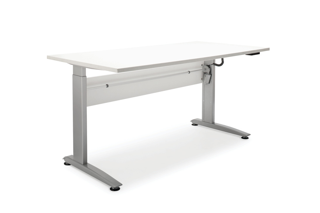 desk frame  electronic  height adjustable  for straight