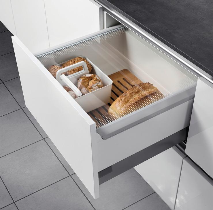 Kitchen Bread Drawer: Drawer Box For Food, Hailo Pantry Box