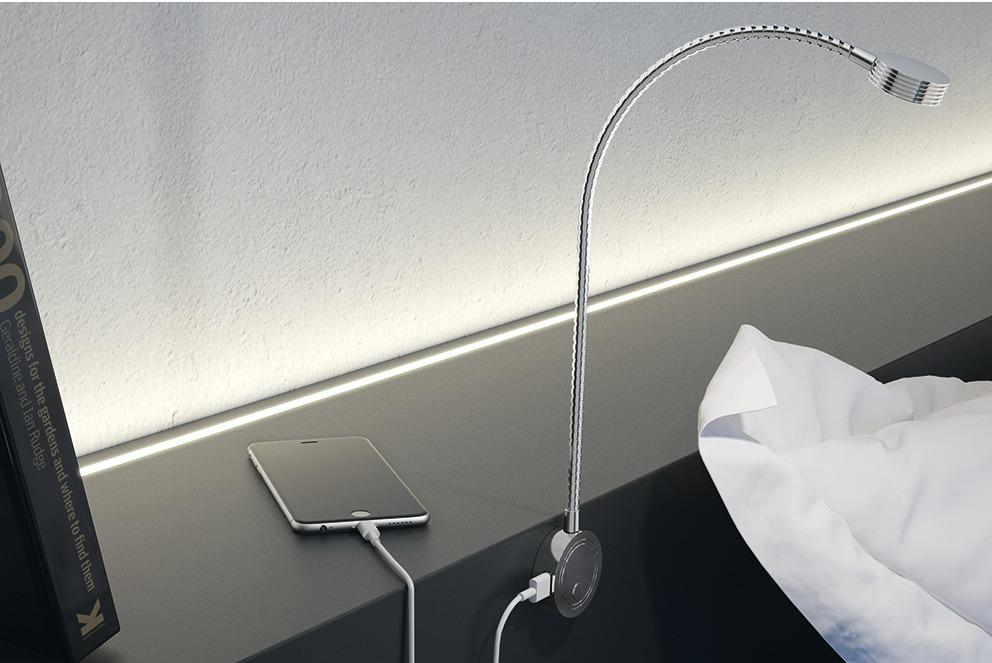 flexible light h fele loox led 2034 12 v in the h fele. Black Bedroom Furniture Sets. Home Design Ideas
