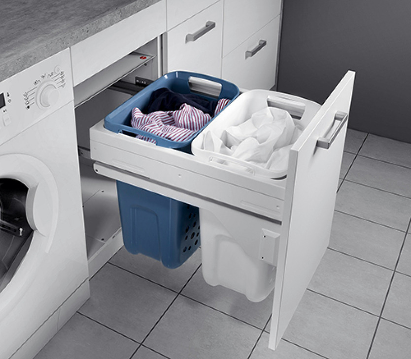 Hailo Laundry Basket With Full Extension In The H 228 Fele