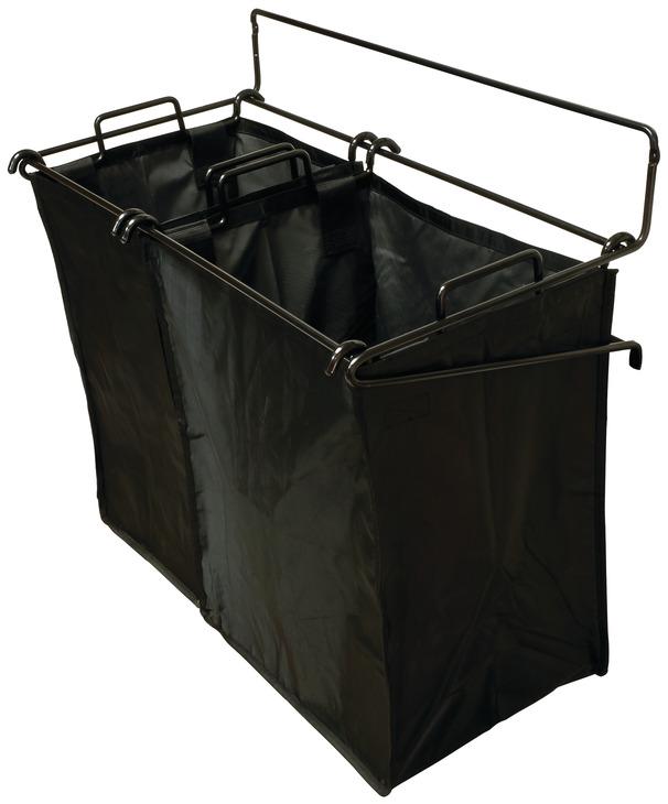 laundry hamper tilt out with removable bags in the h fele australia shop. Black Bedroom Furniture Sets. Home Design Ideas