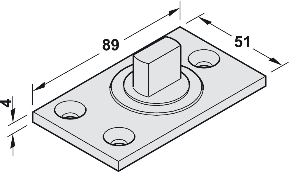 Pivot Bearing For Floor Springs In The H 228 Fele Australia