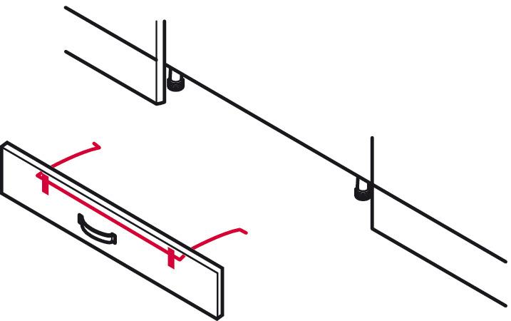 Plinth Bracket Steel Hailo Step Fix Hooking Into Step
