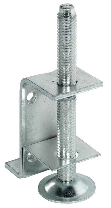 Plinth Height Adjuster With Supporting Bracket For Screw
