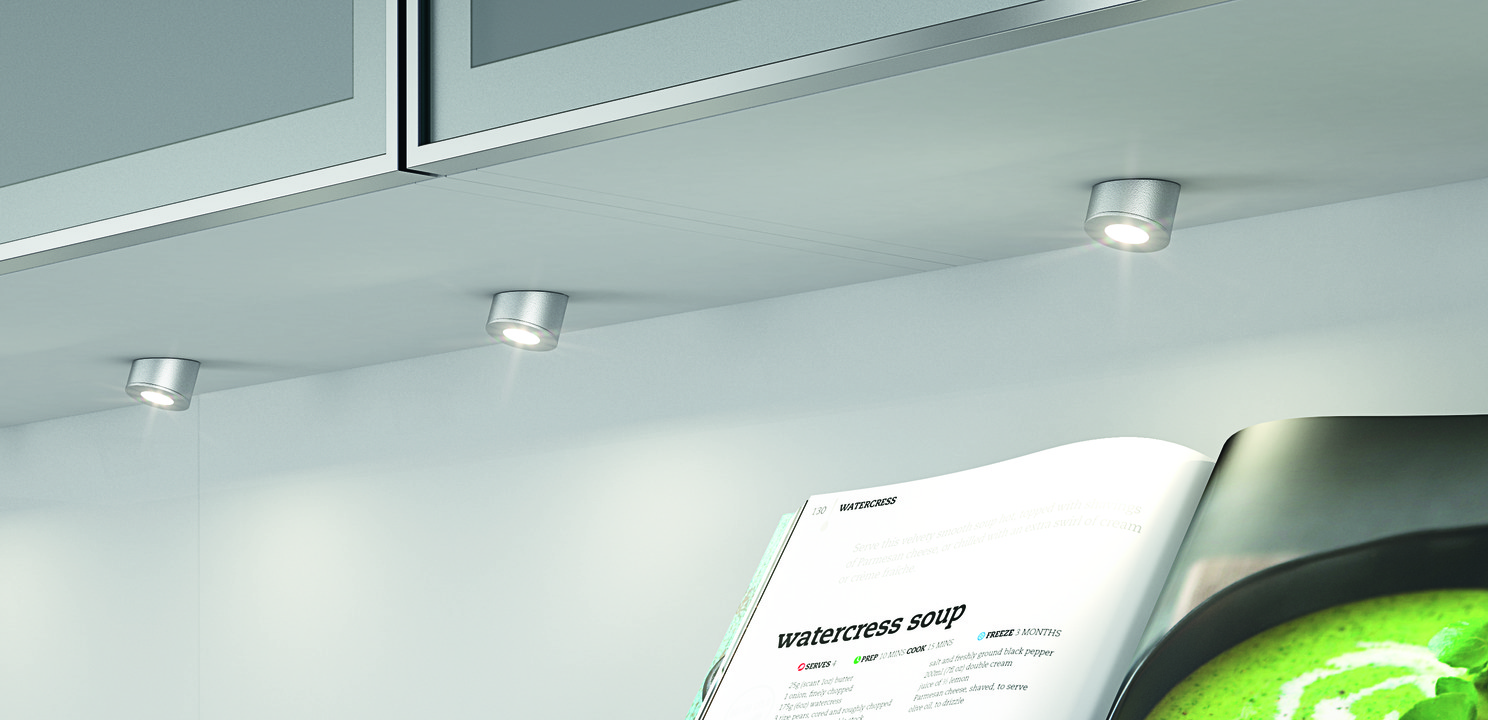 Recess mounted lightsurface mounted downlight round hfele loox mounting as downlight round aloadofball Image collections