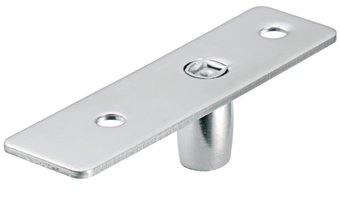 Top door pivot startec for glass double action