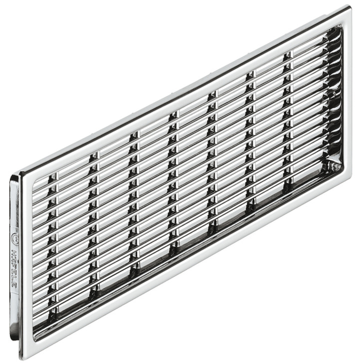 Ventilation Grill, Plastic, Slotted