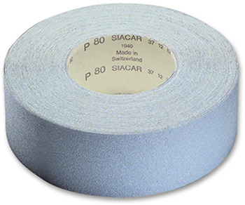 Abrasive rolls, sia paper and siafast rolls