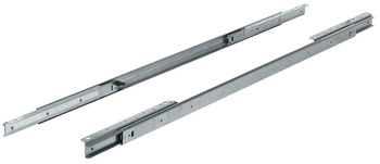 Ball bearing runners, for 2 extension leaves, for tables with frame