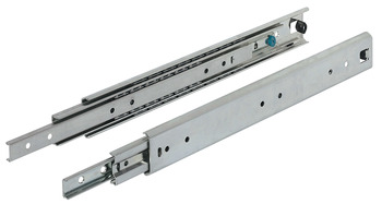 Ball bearing runners, Full extension, Accuride 5321, Load bearing capacity up to 150 kg, Steel, Side mounted