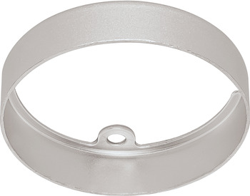 Bezel, round, for LED 3010, for mounting as down light, 24 V