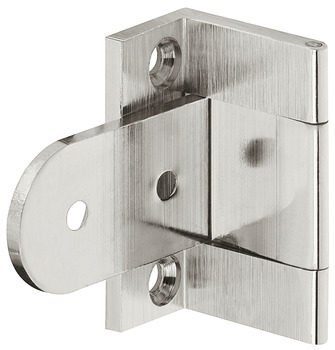 Butt hinge, Neuform, brass, for butting overlay doors