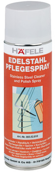 Cleaning spray, for stainless steel