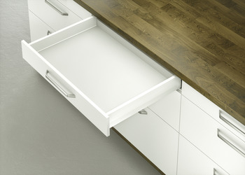 Drawer set, Häfele Matrix Box P70, drawer side height 92 mm, load bearing capacity 70 kg