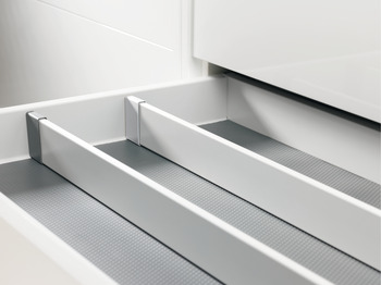 End cap, for drawer divider