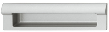Flush handles, zinc alloy, rectangular