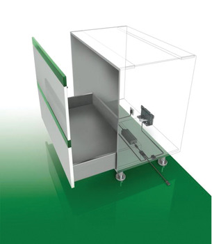 Frame Connector, for More than One Drawer, Grass Sensomatic