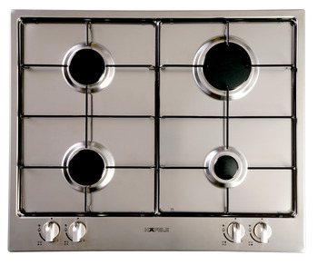Gas cooktop, with flame failure