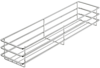 Hook-in basket, base unit/larder unit, 470 x 75 mm