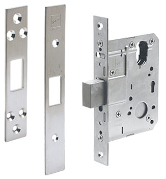 Mortice deadbolt locks - timber, SLD Series, 60mm backset