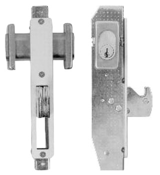 Mortice Sliding Door Lock, Double Cylinder