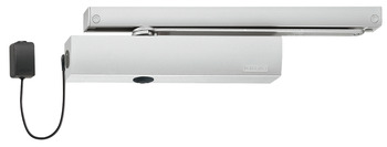 Overhead door closer, TS 5000 EFS set, EN 3–6, with guide rail, Geze