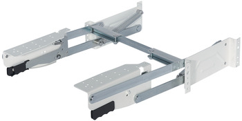 Parallel foldaway fitting, load-bearing capacity 10 kg