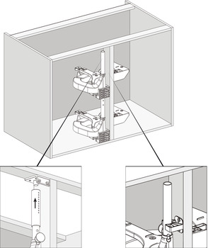 Powerslide 2, corner pull-out system
