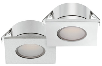 Recess mounted light, Square, Häfele Loox LED 2023, 12 V