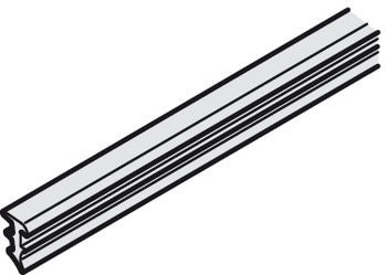 Sealing profile, For 8–8.7 mm glass thickness