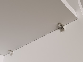Shelf Support, Plug in, for ⌀ 5 mm Hole, for Glass or Wooden Shelves, K Line