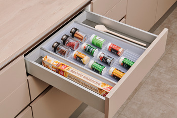 Spice Drawer insert, To suit Grass nova Pro Scala Drawers, Cusio